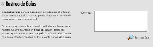 Guía de Envío 14 SendaExpress