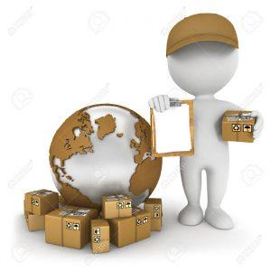 Diversos tipos de paquetería DEST