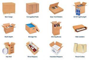 Materiales para envío DEST
