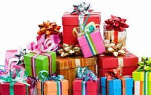 Envío de Regalos navideños por paquetería